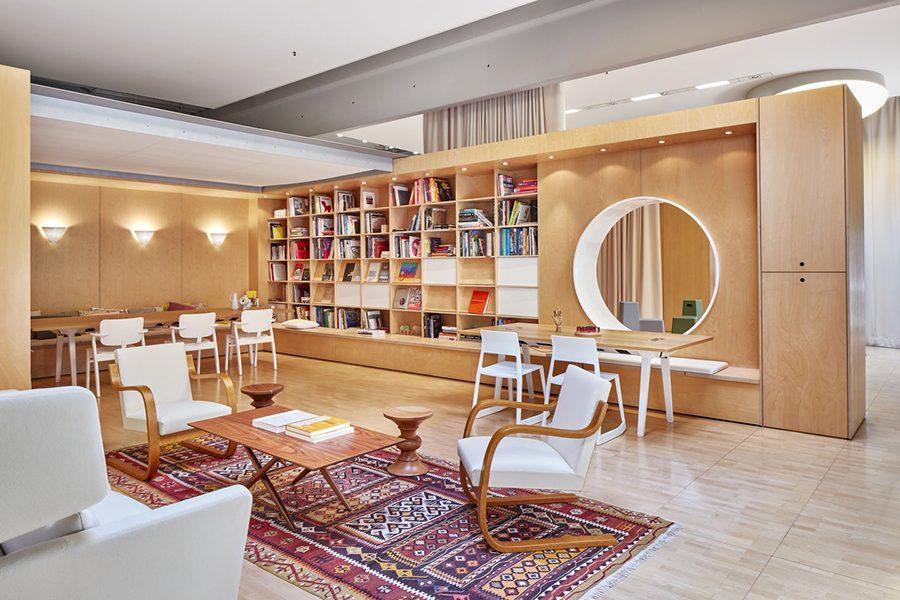 Diseño de oficinas: oficinas que se inspiran en el hogar.