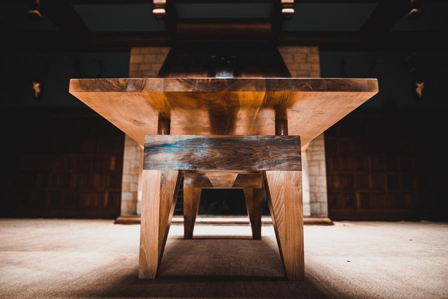 tabulum mesa de madera maciza