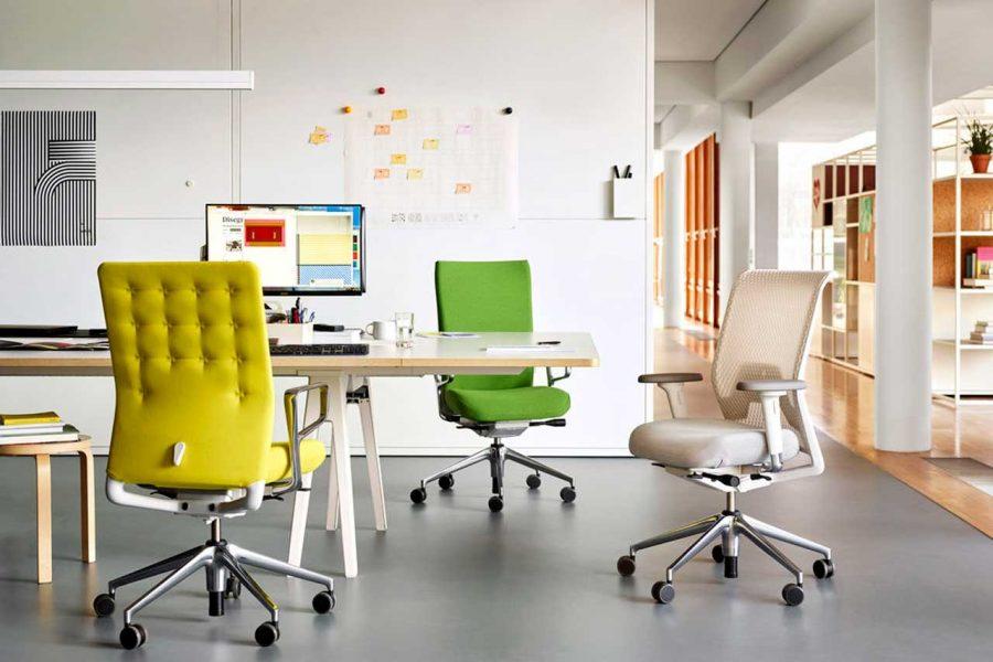 Sillas de oficina: ID Concept de Antonio Citterio para Vitra