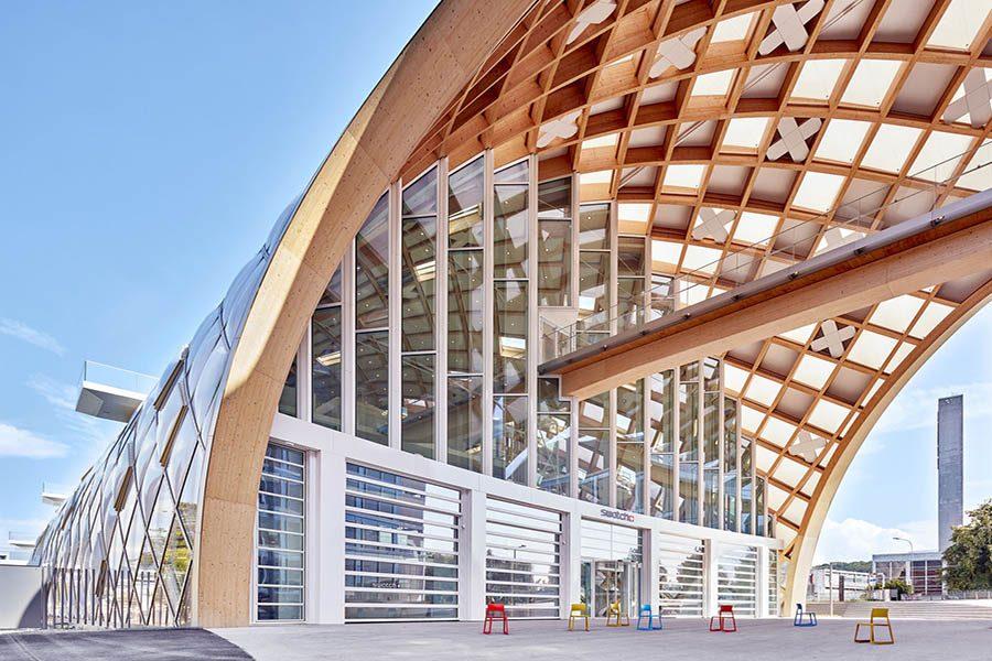 Proyectos: las oficinas de Swatch en Suiza. Un proyecto de Vitra.