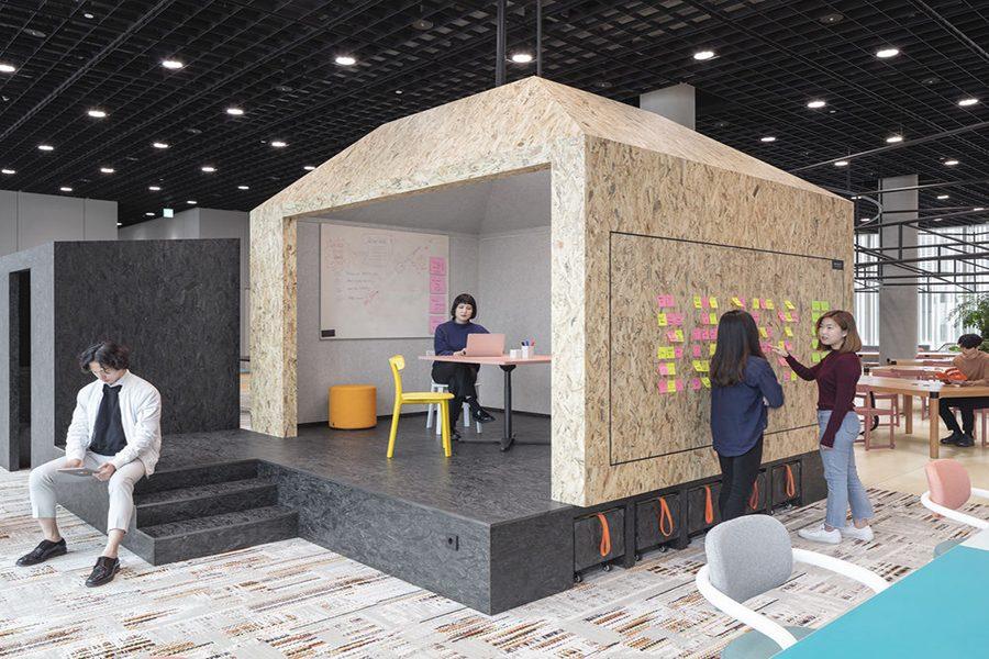 Inspiración: Oficinas Planta 21 Amorepacific. Un proyecto de Vitra.