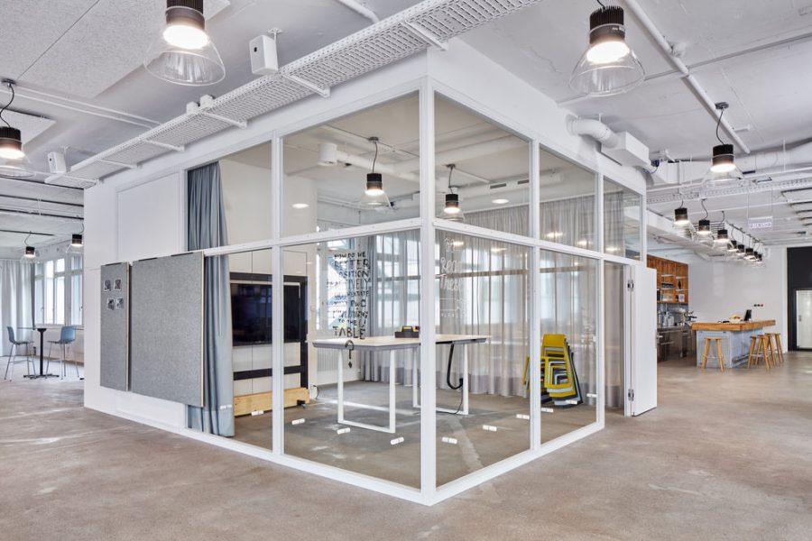 Diseño de oficinas: una oficina flexible – PwC Experience Center