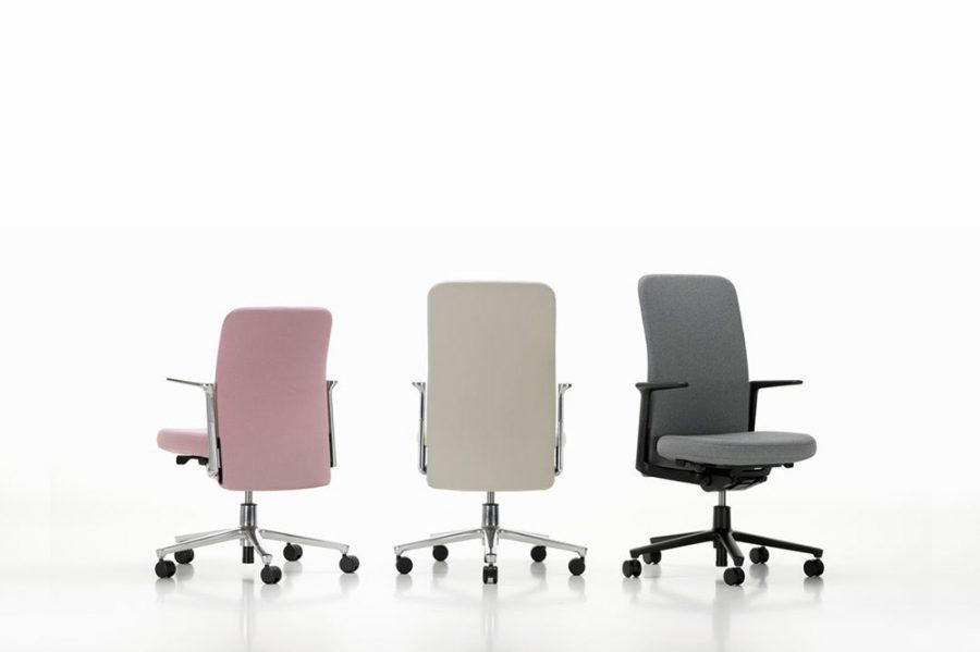 Pacific Chair de Barber & Osgerby: una silla de oficina para tener en casa.