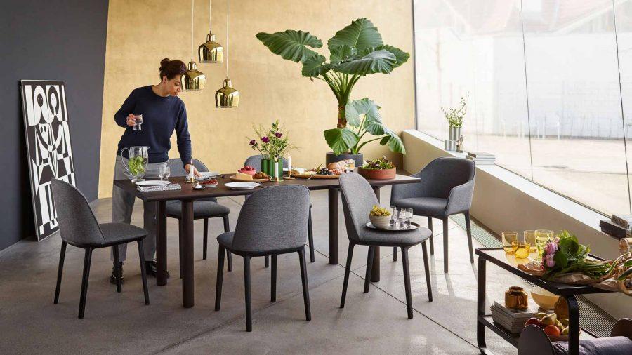 Nueva Silla Softshell Side Chair de Ronan y Erwan Bouroullec para Vitra