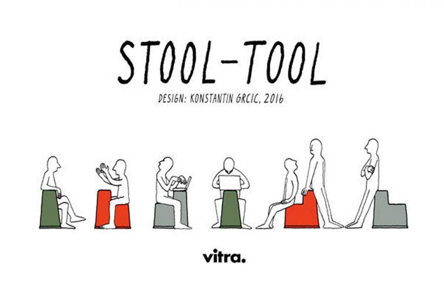Nuevas formas de trabajar: Stool Tool de Konstantin Grcic para Vitra